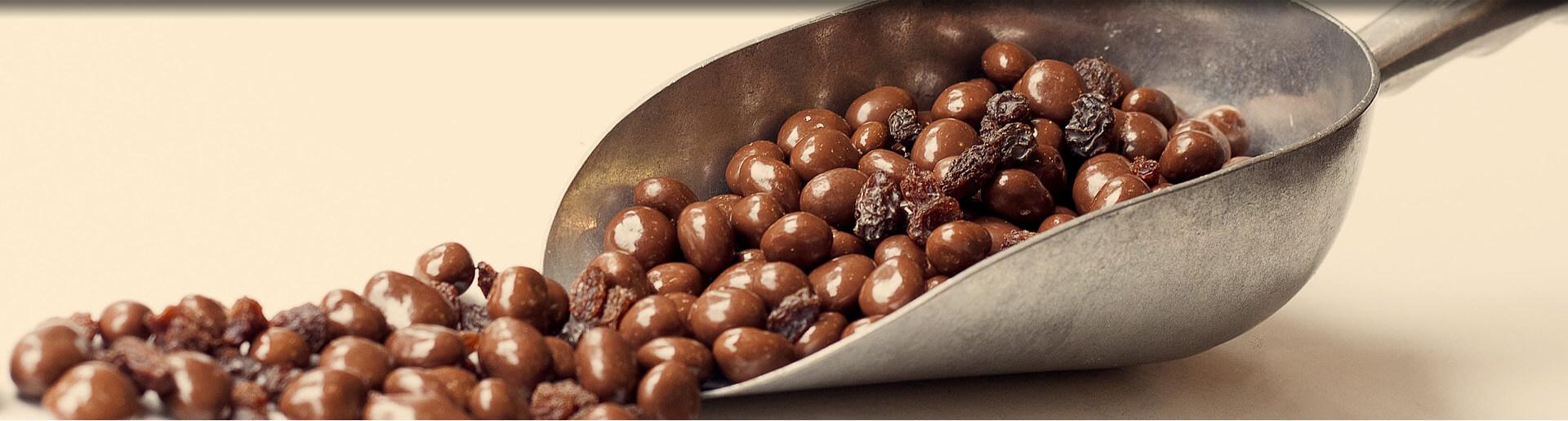 Шоколадови дражета - ядки в шоколад. Gama Food