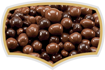 Chocolate coated dragees, choco balls, choco nuts. Gama Food