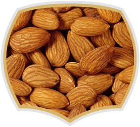 Roasted almonds, quality nuts from Gama Food