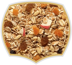 Muesli with 40% fruits. Gama Food