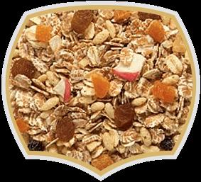 Мюсли с 40% плодове, различни разфасовки. Gama Food