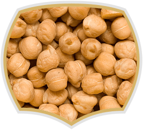 Roasted chickpeas, quality nuts. Gama Food