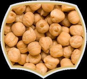 Roasted chickpeas, quality nuts. Gama Food