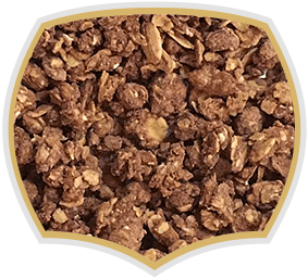 Crunchy muesli chocolate , granola. Gama Food