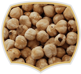 Hazelnuts, raw nuts from Gama Food