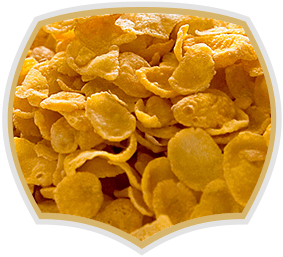 Natural cornflakes. Quality product from Gama Food
