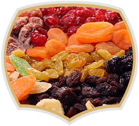 Exotic dried fruits, Gama Food