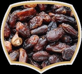 Dried dates, natural taste. Gama Food