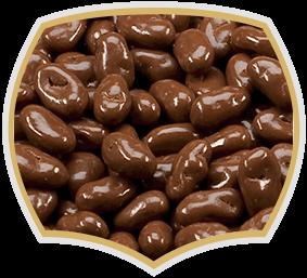 Шоко-стафиди. Шокаладирани ядки Gama Food