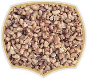 Almond croquant, Gama Food