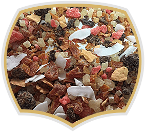 Sliced dried fruit mixes, Gama Food