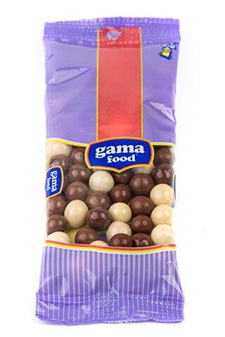 Шоко-криспи (черно и бяло) 50 гр., Gama Food