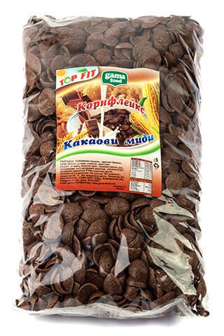 Корнфлейкс шоколадови миди 500 гр., Gama Food