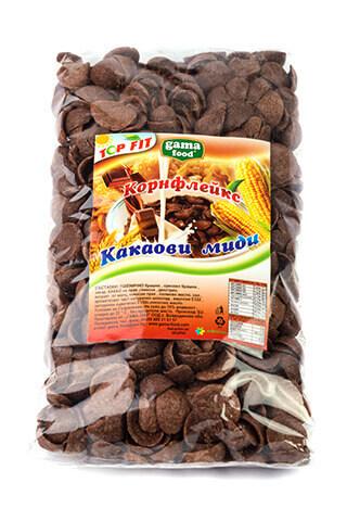 Корнфлейкс шоколадови миди 200 гр., Gama Food