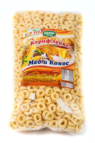 Gama Food Cornflakes Honey Rings 200 gr