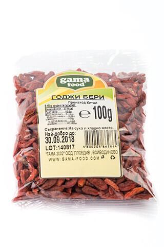 Годжи бери в опаковка от 100 гр, Gama Food