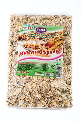 Gama Food Grain Muesli 450 gr
