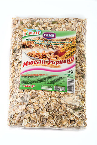 Paketirano Зърнено мюсли 450 гр. от Gama Food