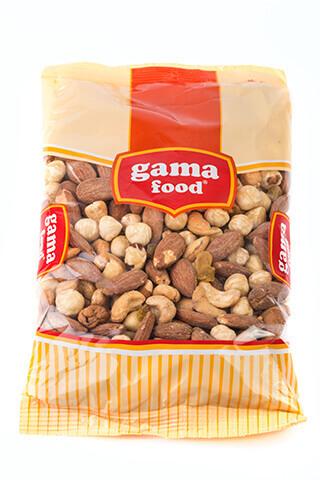 Mix Premium Gama 400 gr - Gama Food roasted almonds, cashew, hazelnuts