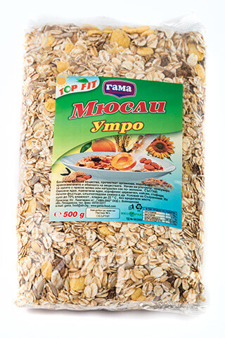 Gama Food Morning muesli 500 gr