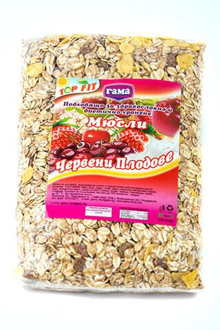 Мюсли с червени плодове 450 гр., Gama Food