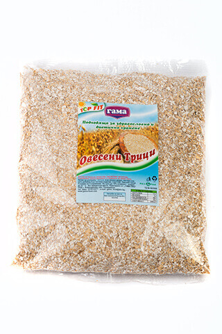 Oat bran in packages 170 gr and 650 gr from Gama Food