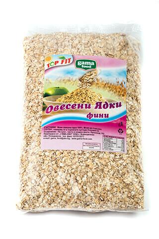Овесени ядки фини в опаковки от 170 гр. и 450 гр., Gama Food