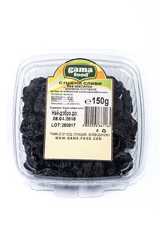 Gama Food Pitted prunes 150 gr